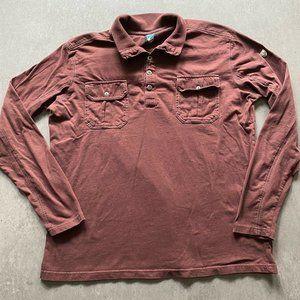 Kuhl long sleeve Shirt Polo Short Sleeve Mens LRG
